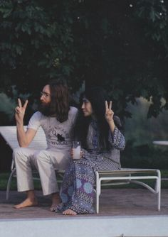 John Lennon Yoko Ono #loveisproject