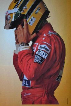 the man. the legend. ayrton senna Love him forever!