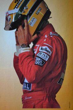 the man. the legend. Ayrton #Senna #F1 #Monaco Grand Prix