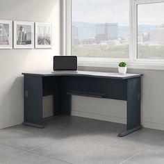 Furniture, Furniture Deals, Bush Business Furniture, Corner Desk, Corner, Small Space Office, Commercial Office Furniture, Desk, Corner Computer Desk