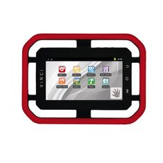 """VINCI 7"""" 8GB Tablet with Wi-Fi (VS-3001) - Red                          - Web Only"""