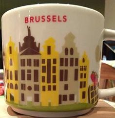 Brussels | YOU ARE HERE SERIES | Starbucks City Mugs