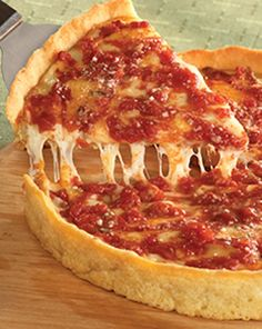 Lou Malnati's Chicago Pizza. I don't normally like deep dish pizza, but you will be hooked once you try it!!