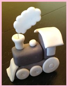 Fondant Train Topper with Mini Train Cupcake by AuntieCakeCakes . Fondant Train Topper with Mini Train Cupcake by AuntieCakeCakes More Fondant Train Topper with Mini Train Cupcake by AuntieCakeCakes … 70 Source by Fondant Cake Toppers, Fondant Cakes, Cupcake Toppers, Cupcake Cakes, Fondant Olaf, Fondant Baby, Train Cupcakes, Mini Cupcakes, Creative Cake Decorating