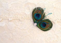 Toddler Girls Mini Peacock Fascinator in PRETTY PEACOCK - Easter Hair Clips - Baby Girls Hair Accessory - Flower Girl - Boutique Hair Bow. $12.75, via Etsy.