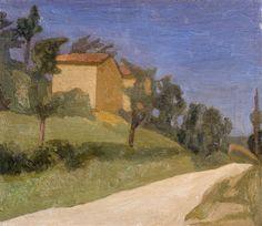 Giorgio Morandi: La strada bianca