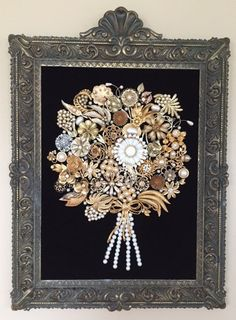 Hey, I found this really awesome Etsy listing at https://www.etsy.com/listing/263174451/vintage-costume-jewelry-golden-bouquet