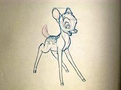 Walt Disney Animation - Bambi