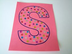 S is for star stickers