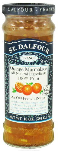 St. Dalfour - Fruit Spread 100% Natural Jam Orange Marmalade - 10 oz. - http://goodvibeorganics.com/st-dalfour-fruit-spread-100-natural-jam-orange-marmalade-10-oz/