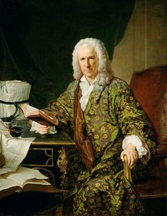 Portrait de Marc Villiers, secrétaire du roi, 1747, Joseph Aved