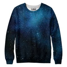 belovedwear® presents the #StarryStarry Night sweatshirt is made using a special sublimation technique to provide a vivid graphic image throughout the shirt. • 100% Polyester • All Over Photographic P