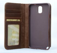 Amazon.com: Mossgreg 5 in 1 Genuine Handmade Leather Case for Samsung Galaxy Note3 N9000 N7200 Case N9000case: Cell Phones & Accessories