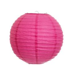 Koyal 8-Inch Paper Lantern, Fuchsia, Set of 6 by Koyal. $13.54. Pair this with other Koyal Wholesale products, such as vases, event decorations, lighting, DIY craft supplies and dessert and candy buffet supplies. Wire insert allows for easy hanging. Traditional round paper lantern with easy assembly instructions. Light Kit Sold Separately. Perfect for catered presentations, weddings, bridal and baby showers, birthdays, classic candy buffets, dessert tables and more. Koyal Wholes...