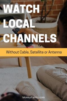 9 Ways to Watch Local TV Without Cable or Satellite (or even Antenna!) – Make Money Tv Hacks, Netflix Hacks, Cable Tv Alternatives, Cable Options, Free Local Tv, Diy Tv Antenna, Tv Without Cable, Free Tv And Movies, Computer Help