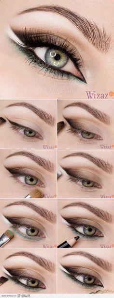 58 Trendy Makeup Tutorial Eyeliner Make Up Eye Makeup Tips, Makeup Inspo, Makeup Inspiration, Glamouröses Makeup, Makeup Ideas, Eyeshadow Makeup, Contouring Makeup, Glitter Eyeshadow, Makeup Style