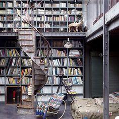 loft library in Paris