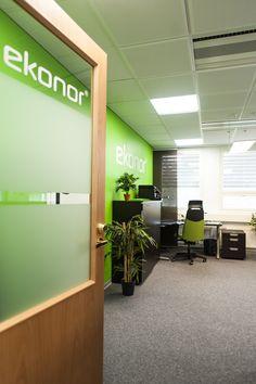 Ekonor branded office in Oulu #toimitilabrändäys