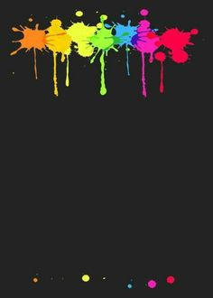 Something like this but on a black t-shirt Glow Party, Disco Party, Pop Art Wallpaper, Wallpaper Backgrounds, Wallpapers, Neon Party Invitations, Rainbow Painting, Neon Glow, Art Birthday