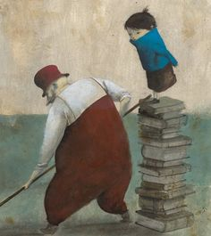 "Pablo Auladell ""Books help us ..."""