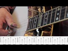 Beginning Bluegrass Banjo - Lesson 31 - The Tennessee Waltz - YouTube