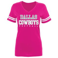 Image for Dallas Cowboys Women's Practice Glitter T-shirt from Academy