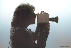 Jim Morrison (with movie camera)