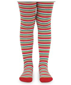 candy striped holiday tights size 18 24 months stripes christmas accessory