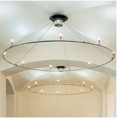 "Bruck V/A 90"" Ring Ceiling Fixture"