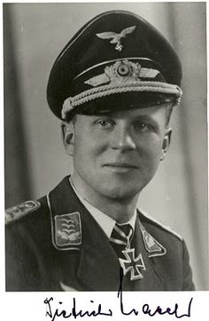 Dietrich Hrabak, Luftwaffe Ace with 125 victories.