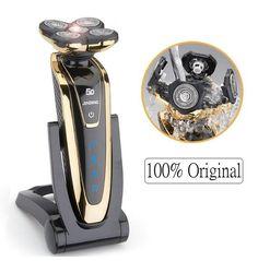 "(56.90$)  Buy here  - ""Wet/Dry 5D Electric Shaver Electric Razor For Men Rechargeable Men&#39"