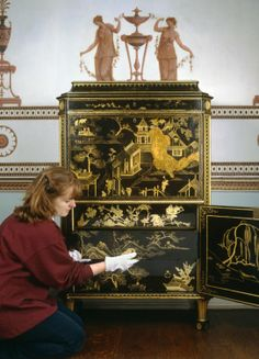 Thomas Chippendale & Son Cabinet