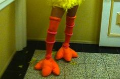 DIY Big Bird Costume Is Better Than Anything You Can Buy