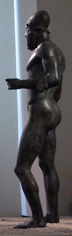 Riace warrior, Greece ± 450 BC