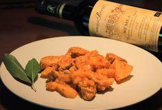 Pork in Red Sauce. Paired with Red Wine NEMEA Bio by Domaine Repanis (Agiorgitiko)