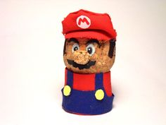 Champagne Cork Mario - now I know what to do with our champagne cork