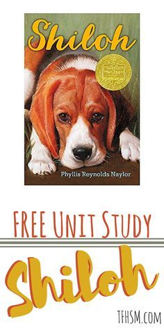 free homeschool unit study shiloh book tfhsm