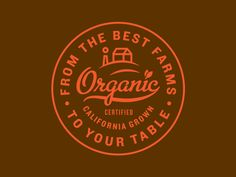 Organic Badge by Kyle Anthony Miller