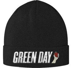 Green Day- Grenade Cuffed Beanie Green Day Logo e66c5f44a62