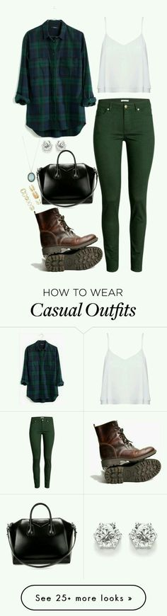 Outfit casual, jeans verde militar, blusa blanca, camisa a cuadros verde y azul, botas cafés. Mode Outfits, Fashion Outfits, Womens Fashion, Fashion Ideas, Street Looks, Street Style, Fall Winter Outfits, Autumn Winter Fashion, Casual Wear