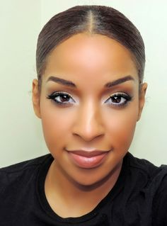Beauty By Lee: LOOK FOR LESS: Full Flawless face and A Golden Smokey eye