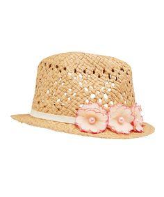 Flower Straw Hat