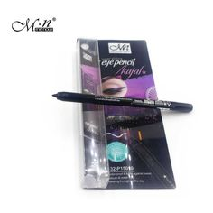 New cosmetic waterproof & permanent black kajal eye pencil super gliding eyeliner Long-lasting Liquid Eye Liner Pen Makeup Tool