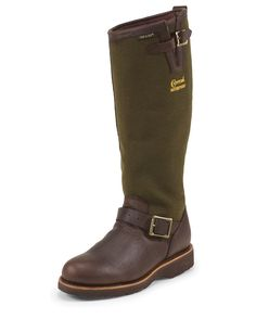"""The Briar Pitstop Waterproof Pull On Snake is a 17-inch tall men's boot with a plain toe.<div><br></div><div><div class=""""techTitle"""" style=""""margin: 0px; padding: 0px; border: 0px; vertical-align: baseline; width: 285px;"""">Vibram Outsole is the world leader in high performance rubber soles, targeted to the outdoor, work, recreation, fashion, repair and orthopedic markets. For more than 70 years, the famous yellow octagon that identifies our brand has been synonymous with quality, ..."""