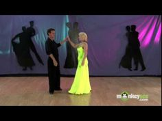 How to Waltz - Rise and Fall - YouTube. This will definitely help make it look so much more graceful!