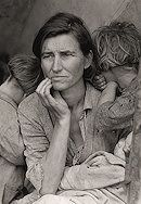 Dorothea Lange (1895-1965) has been called America's greatest documentary photographer. She is best known for her chronicles of the Great Depression and for her photographs of migratory farm workers.