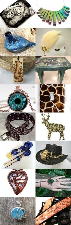 Welcome to the Jungle by Alison on Etsy--Pinned with TreasuryPin.com