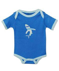 Victoria Blue Shark Bodysuit
