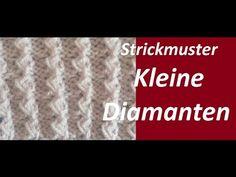 Strickmuster * POPCORN STREIFEN * - YouTube