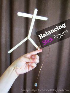 Relentlessly Fun, Deceptively Educational: Balancing Stick Figure